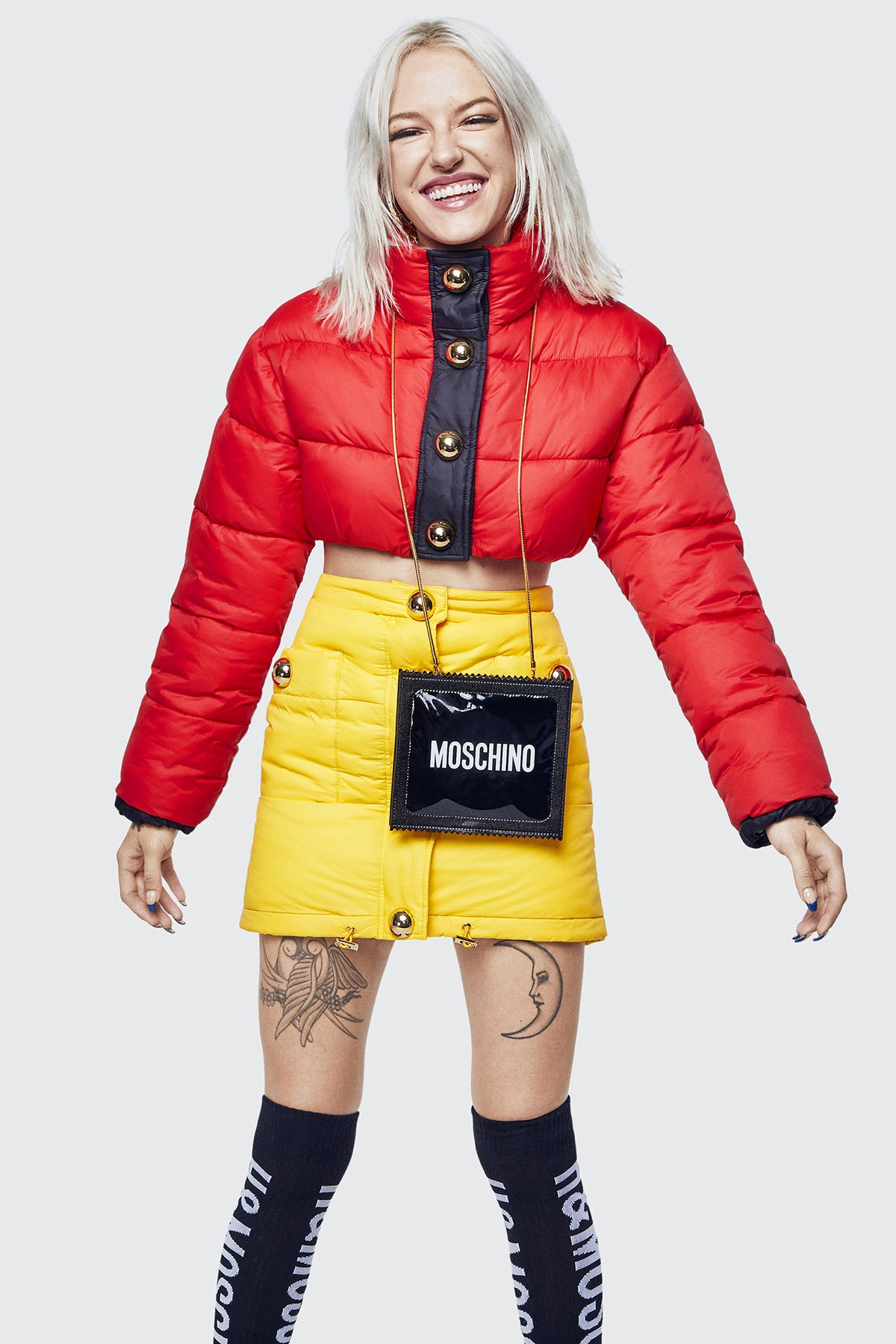 A little look into the upcoming HMxMoschino designer collection
