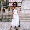 Ama Poku von Phuck it Fashion trägt ein Tüllkleid